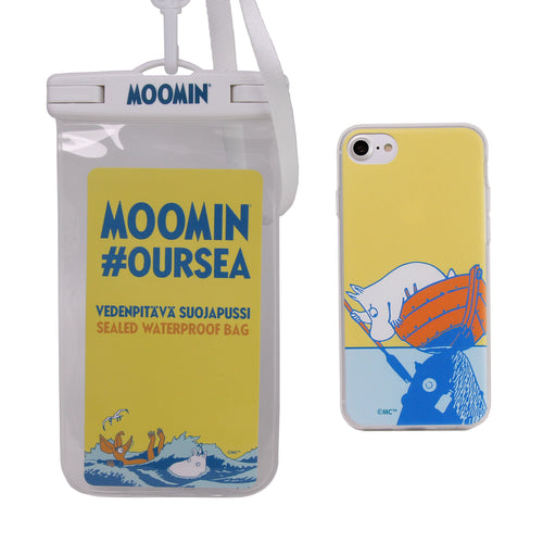 Eco-Friendly Soft Case Moomintroll & Boat + Waterproof Bag