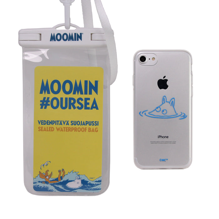 Eco-Friendly Soft case Moomintroll + waterproof bag