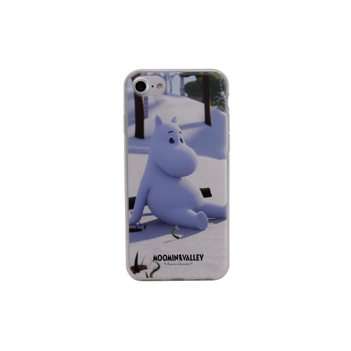 Moomin Valley Soft Case Moomintroll winter