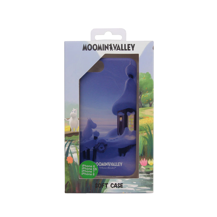 Moomin Valley Soft Case The Boathouse winter