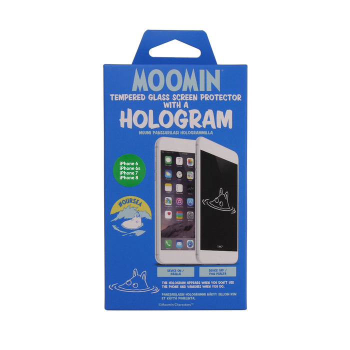 Moomin Our Sea holographic screen protector Moomintroll