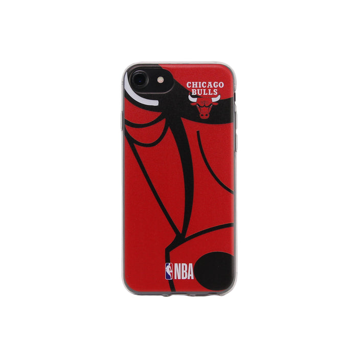 Chicago Bulls Team Logo Official NBA Soft Case phone protector