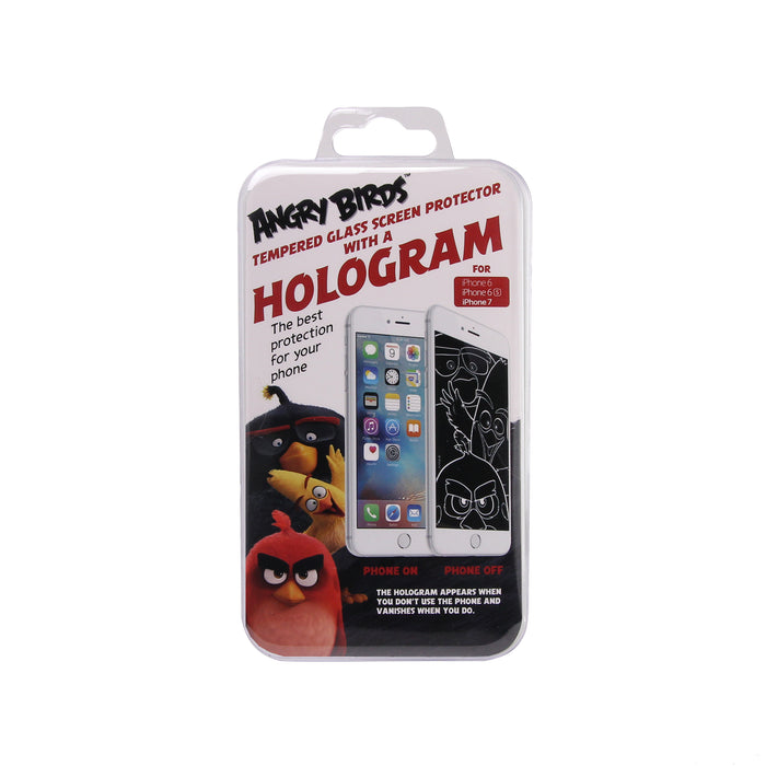 Angry Birds Red holographic screen protector