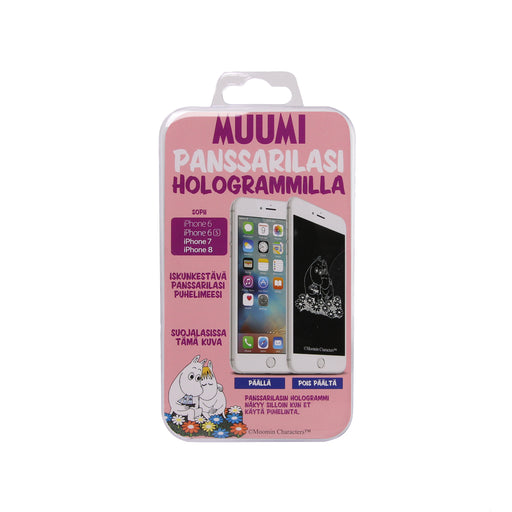 Moomin holographic screen protector Moomintroll & Snorkmaiden