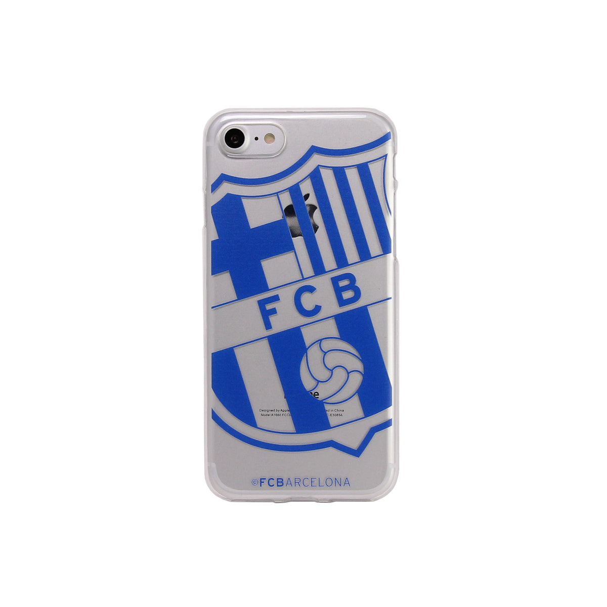 Fc Barcelona Soft Case Transparent Docover