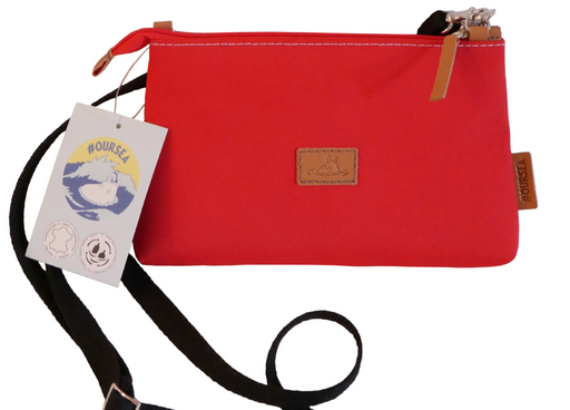 Call - Eco-Friendly Canvas Bag (Red)