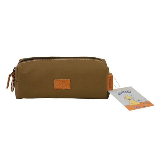 Sing - Eco-Friendly Canvas Bag (Khaki / Olive green)
