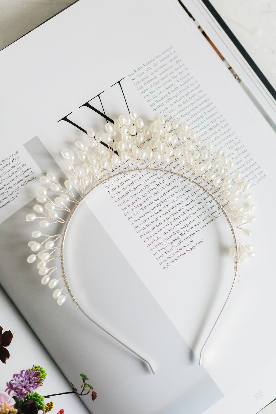 Crown of Pearls (Silver)