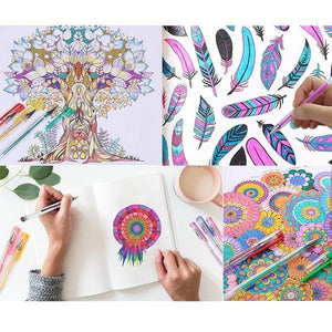 Wholesale Promotion Buy More Save More-Gel Pens for Adult Coloring Books