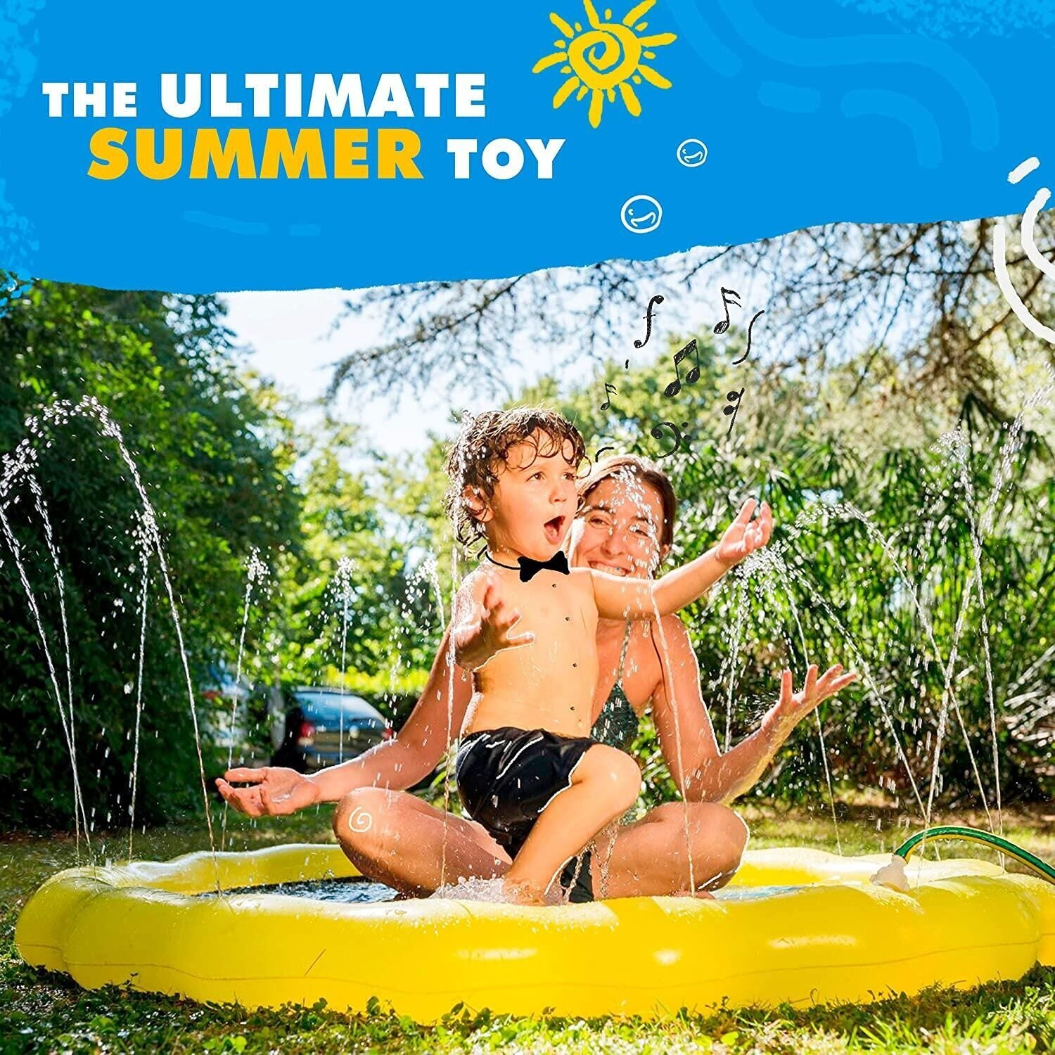 Children's Sprinkler Pool