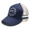 Double Diamond Navy & Silver Trucker Cap