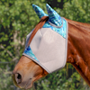 Cashel Crusader Fly Mask Standard with Ears - Blue Watercolour