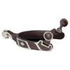 Classic Equine Diamond Spurs - Medium