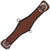 Classic Equine FeatherFlex® Roper Girth - Brown
