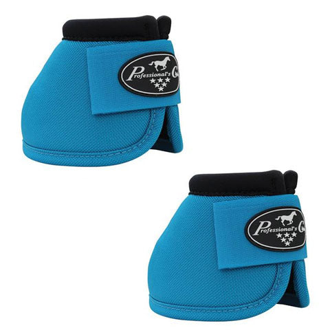 Professionals Choice Ballistic Overreach Bell Boots - Pacific Blue - Large