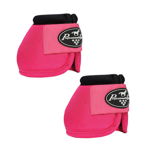 Professionals Choice Ballistic Overreach Bell Boots - Raspberry - Large