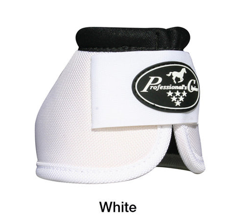 Professionals Choice Ballistic Overreach Bell Boots - White - Large