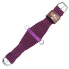 Classic Equine 100% Mohair Roper Girth - Purple