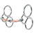 "Reinsman Gentle Guide - 3/8"" Smooth Copper Snaffle"