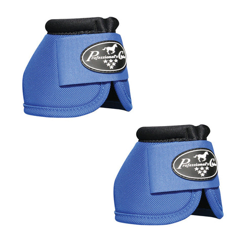 Professionals Choice Ballistic Overreach Bell Boots - Royal Blue - Large