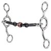 Reinsman Junior Cowhorse 349 - Dogbone Snaffle with Copper Roller