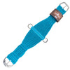 Classic Equine 100% Mohair Roper Girth - Turquoise