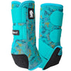 Classic Equine Legacy2 Boots - Turquoise Slab - Medium Fronts
