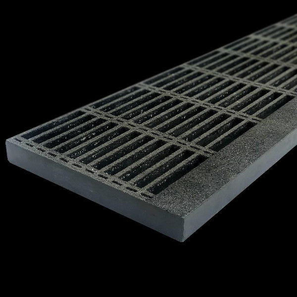 "Tread Panel, 1.5"" Thick, Gray, Vinyl Ester Resin"