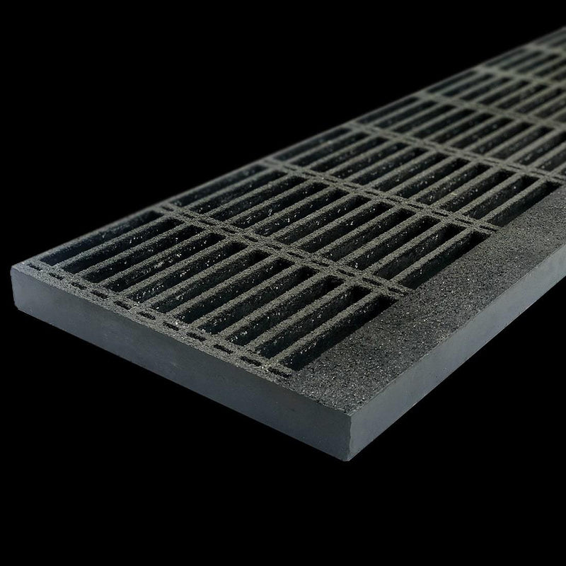 "Tread Panel, 1.5"" Thick, Gray, Isophthalic Resin"