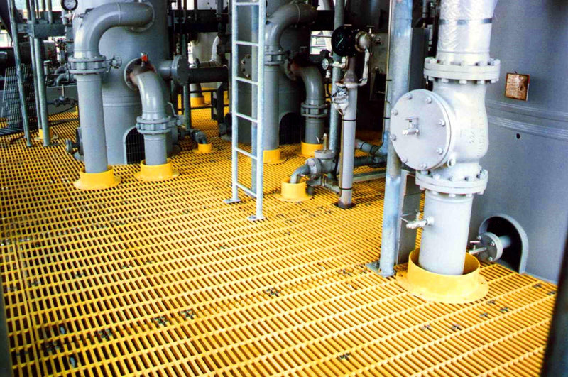 Various Yellow Penetration Collars in use on and Offshore platform