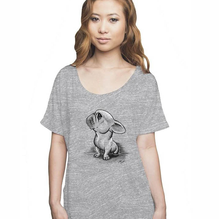Frenchie Slouchy Tee