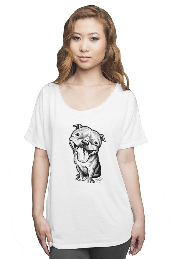 Beaming Bully Slouchy Tee