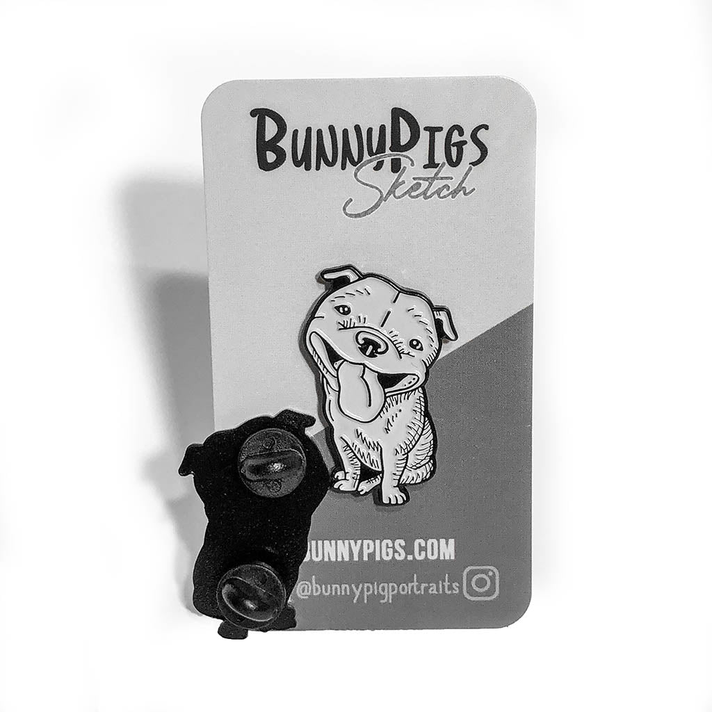Beaming Bully Pin