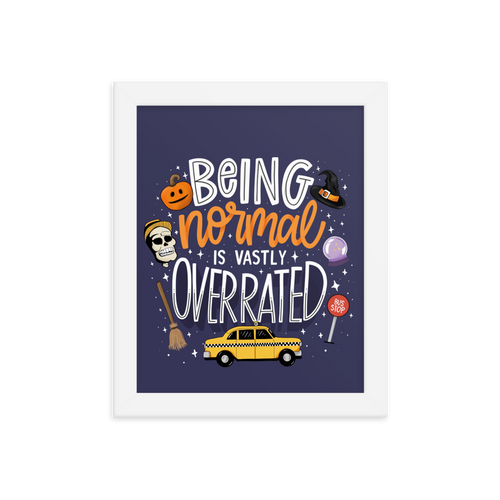Being Normal | Art Print
