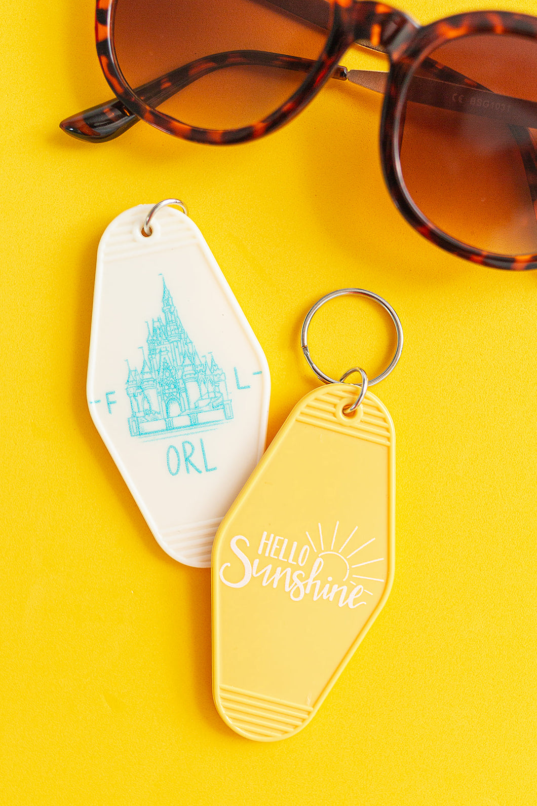 Hello Sunshine | Motel Keychain