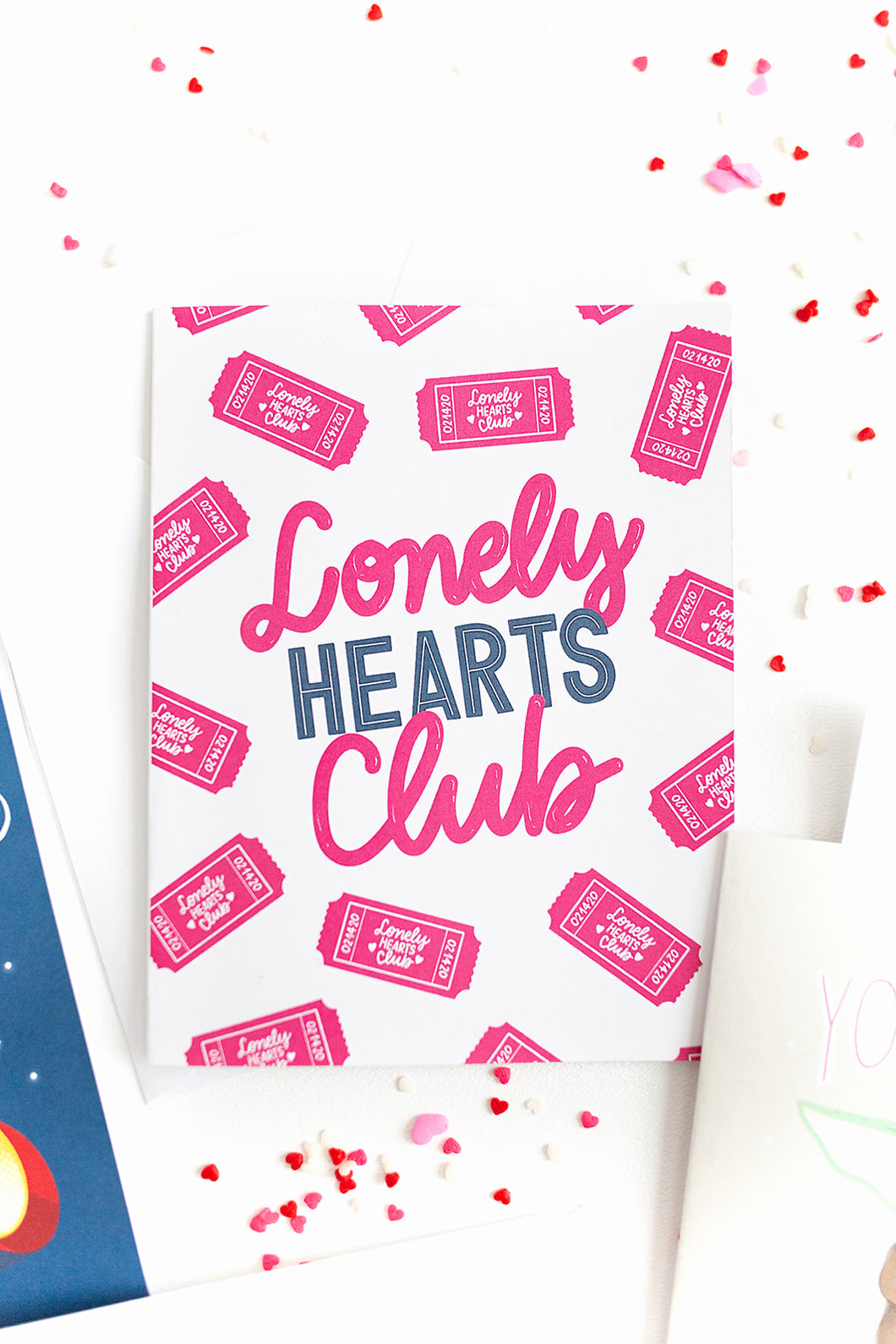 Lonely Hearts Club- Valentine's Day Card