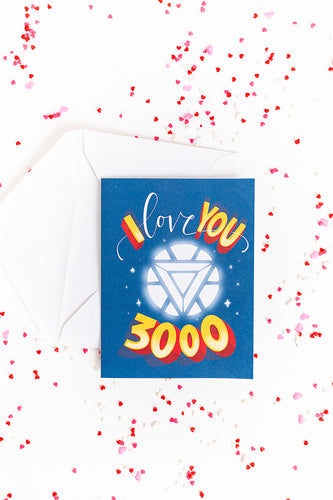 I Love You 3000 - Valentine's Day Card