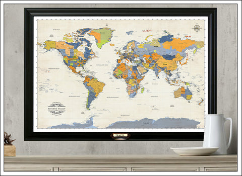 World Map Store.World Maps The Travel Map Store