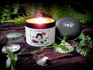 "organic soy wax scented candle ""Nymph"" Misty Stroll"