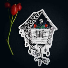 "Load image into Gallery viewer, Sticker ""Baba Yaga's cottage"""