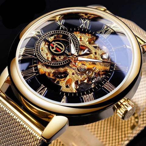 affordable skeleton watch