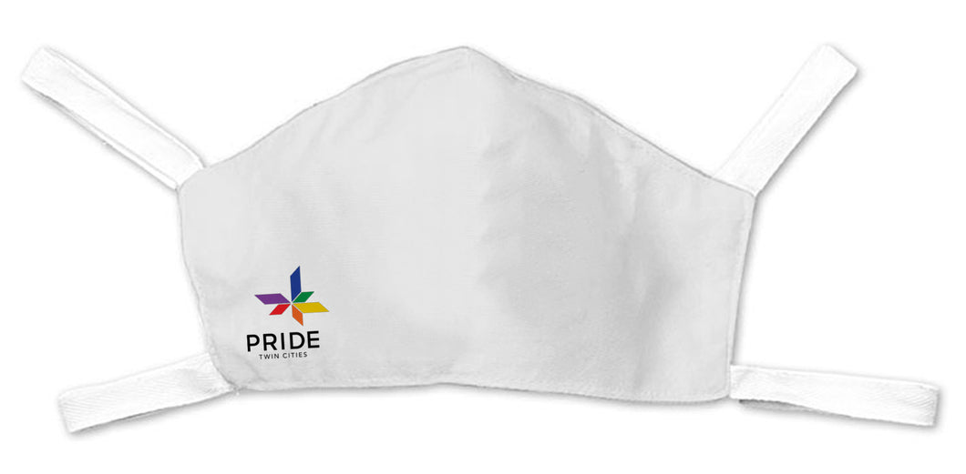 TC Pride Logo Face Mask