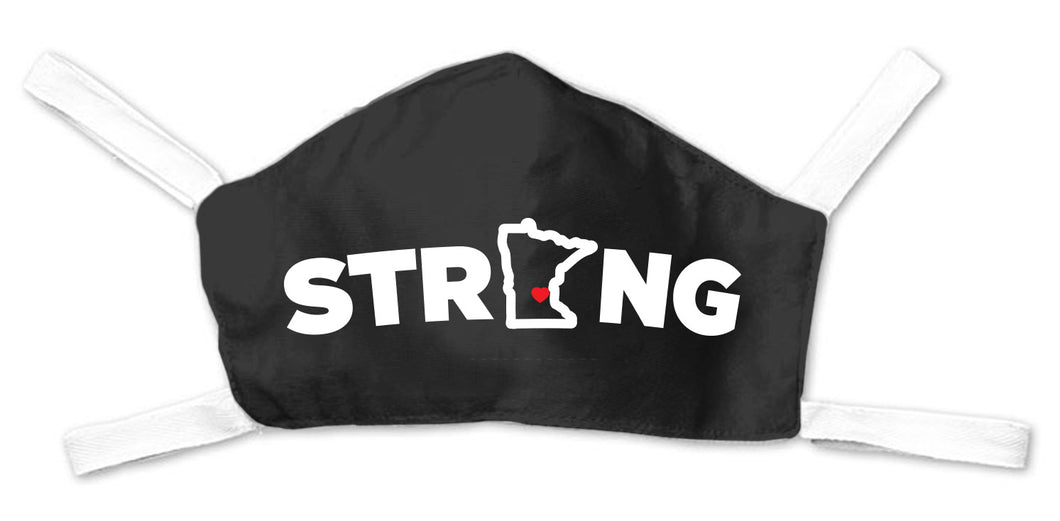 MN Strong Face Mask - Black