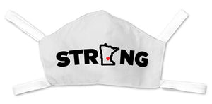 MN Strong Face Mask - White