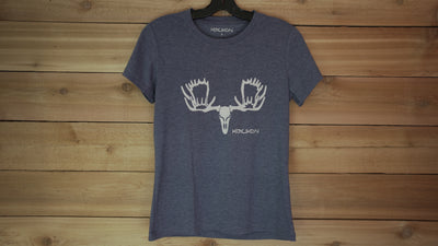 Women's Short Sleeve- Moose Head Logo - Koyukon