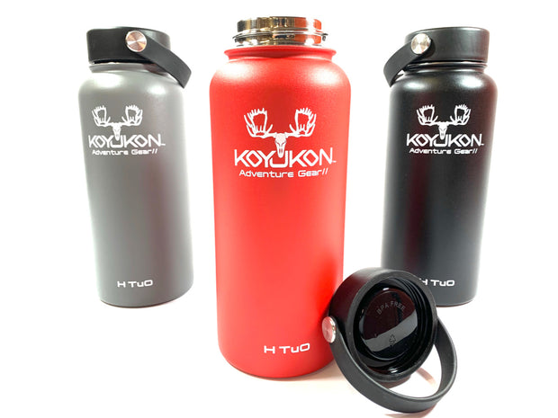 H TuO® - Stainless Steel Water Bottles - Koyukon