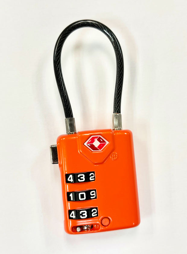 Orange Cable Lock - Koyukon