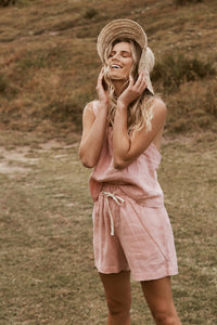 The Short in Blush