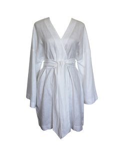 The Dress Robe in White