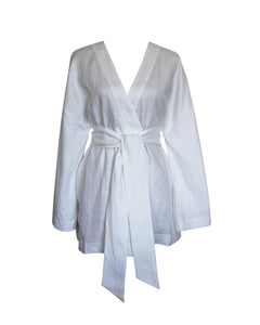 The Robe in White